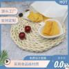 信雅食品级淋膜包装纸袋定制一次性小吃油炸烘培食品防油牛皮纸袋