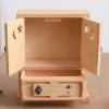 创意多功能收纳盒雕刻迷你木盒储物柜首饰收纳盒实木玩具盒可定制