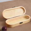 定制手工眼镜盒翻盖木质收纳盒创意简约木质眼镜盒收纳木盒可logo