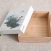 定制竹木盒茶叶盒茶叶木盒方形茶叶礼品包装盒月饼包装盒坚果礼盒