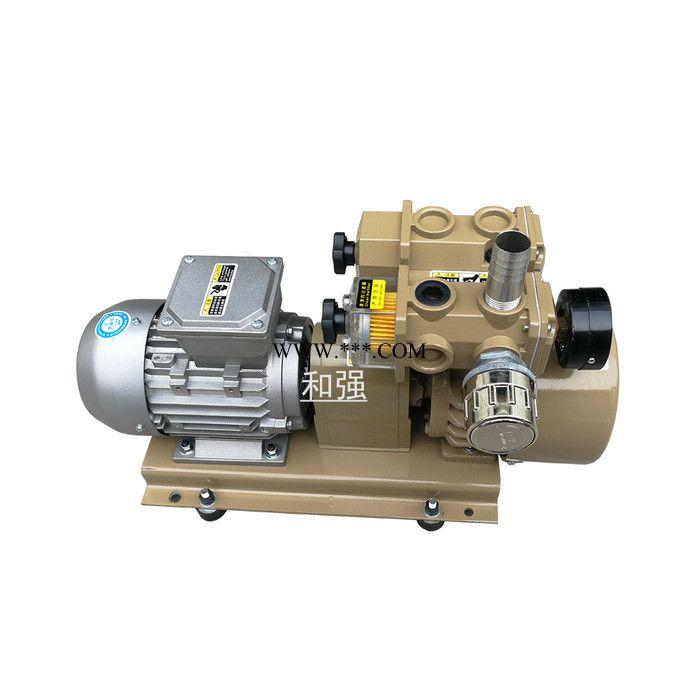 无油旋片泵 HZB60-SS-VB-03 国产好利旺 喷码机 喷粉机专用气泵 代替KRX7A-P-VB-03