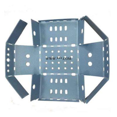 可折叠纸箱式蜂窝板板周转箱 PP塑料折叠蜂窝板包装盒 可定制 周转盒