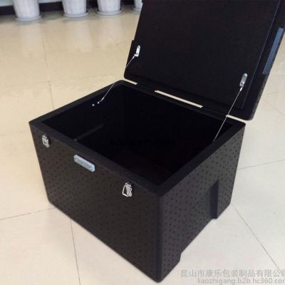保温箱EPP泡沫箱送餐箱外卖箱外送箱团膳配送箱60升【好乐康】