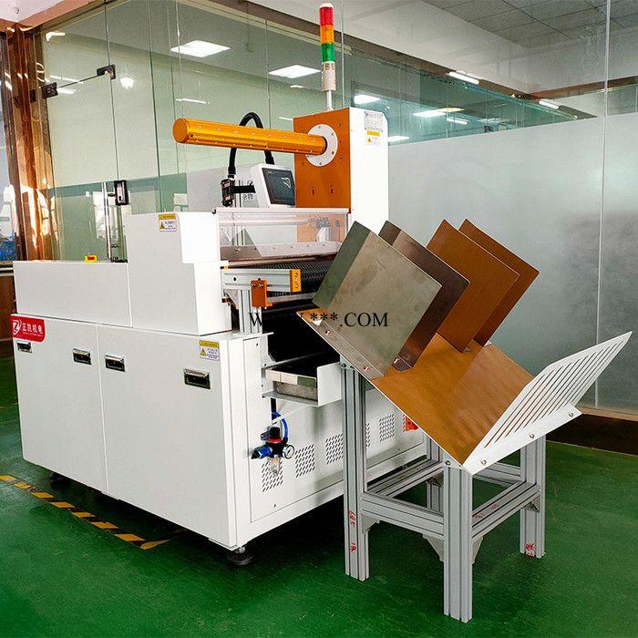 覆膜裁切机zkfm-500CQS用于复合板pvc自动覆膜裁切机
