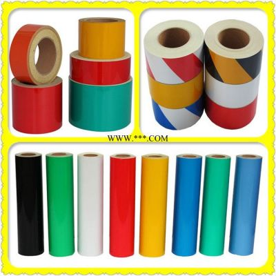 直销 广告级亚克力反光膜 印刷喷绘反光膜 PVC反光材料