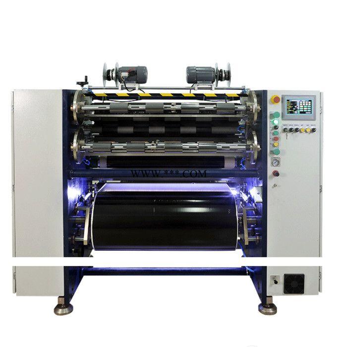 德力实手动半自动碳带色带薄膜分切机 MANUAL TTR SLITTER RSDS2