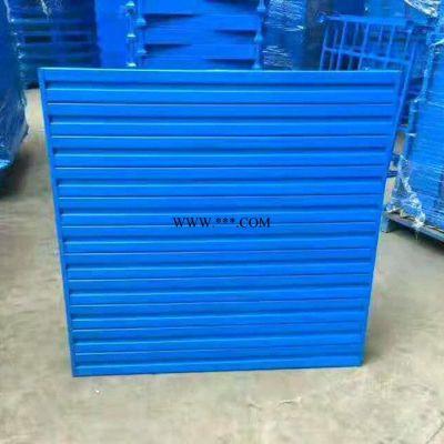 江苏南京钢托盘铁栈板生产厂家 定做货架用钢托盘