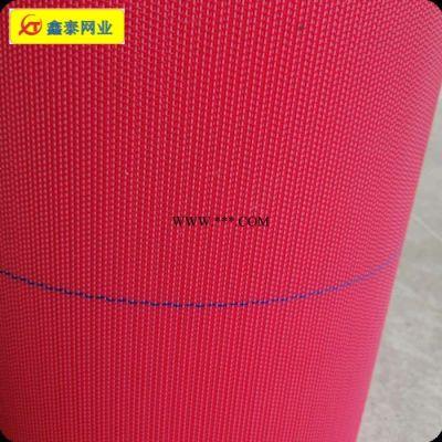 现货供应 纺粘无纺布网帘聚酯网帘 FZWL 4106红扁 大透气量 全聚酯滤网