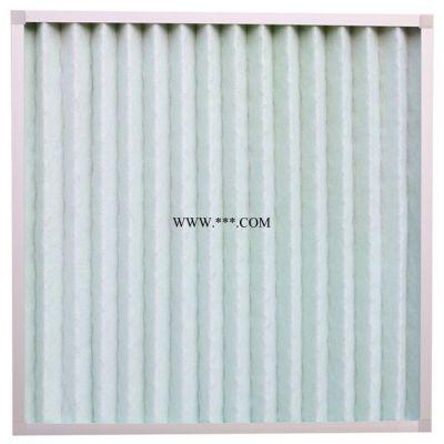 山东日日新厂家现货供应JXZBG4初效板式空气过滤器无纺布铝框中初效过滤器