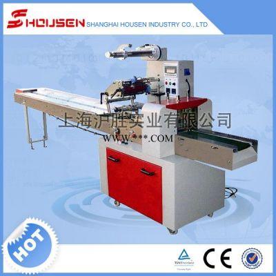 供应沪胜HSH-320带托盘饼干包装机 托盘饼干包装机 全自动枕式包装机