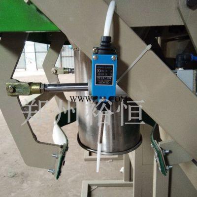 50公斤工业盐袋装机器 大粒盐颗粒打包装袋机 化肥颗粒打包秤