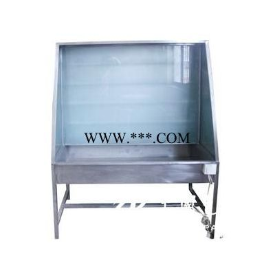 不锈钢冲版台洗网机