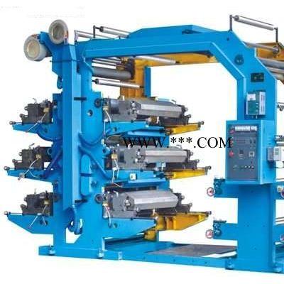 六色柔性凸版印刷机