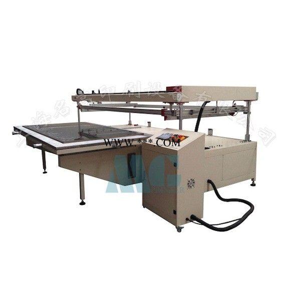 半自动大型丝网印刷机跑台玻璃木板广告印花 定制