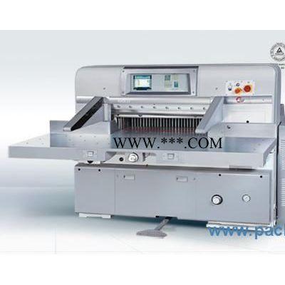 供应程控切纸机,国望K92CD 10.4英寸电脑程控切纸机