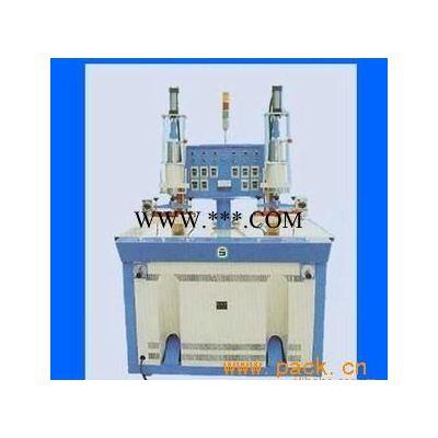 供应HX-8000W双头快速鞋面压花机