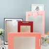 橱窗透明手提袋定制鲜花礼品包装纸袋创意生日礼物手拎式牛皮纸袋