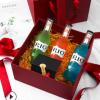 创意生日礼物包装盒丝带盒子开窗正方形礼品盒化妆品纯色礼盒现货