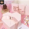 心形礼品盒婚庆礼物包装盒桃心伴手礼圣诞盒子喜糖包装纸盒现货