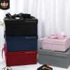 创意正方形伴手礼盒 大号礼物包装盒定制 透明喜糖盒子新年礼品盒