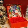 圣诞节礼盒包装盒平安夜苹果围巾化妆品创意礼品盒生日礼物盒