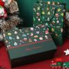 生日礼物天地盖礼品盒圣诞节礼盒平安夜苹果围巾水杯包装盒现货