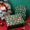 圣诞节礼盒平安夜苹果包装盒生日礼物保温杯围巾糖果礼品盒