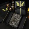 现货翻盖高档情人节包装礼盒丝带蝴蝶结礼品盒定制礼品包装盒定做