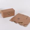 定制印刷瓦楞牛皮纸包装盒蜂蜜六楞玻璃瓶果酱花茶红糖礼品盒