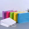 厂家定制 彩色服装购物袋 西点甜品外卖袋 现货供应批发