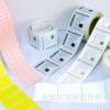 印刷透明彩色日化标签,高清晰度,异形不干胶标签