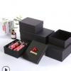 创意生日礼物盒可乐通用包装礼品盒黑色长方形天地盖包装盒