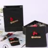 定制长方形天地盖可乐礼品盒黑色圣诞节礼物盒牛皮纸通用包装纸盒