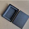 现货专车专用汽车钥匙包包装盒 黑色钥匙包 包装盒天地盖礼盒订做