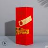 礼品盒定制厂家批发礼盒定做彩印logo红酒包装翻盖盒单只装彩盒