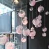 圣诞节店铺装饰品店面布置透明球创意塑料房顶吊球吊顶天花板挂件