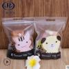 小猫小熊可爱卡通饼干袋休闲食品包装袋子牛轧糖袋零食自封拉链袋