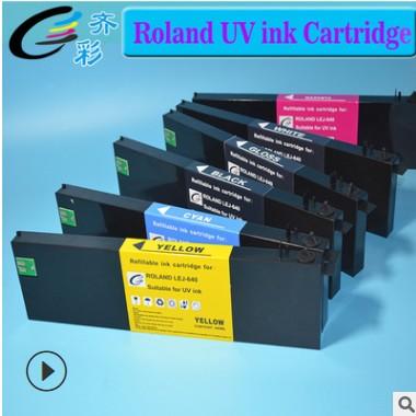 UV墨盒适用于罗兰Roland lef-300填充墨盒UV写真机墨盒含芯片