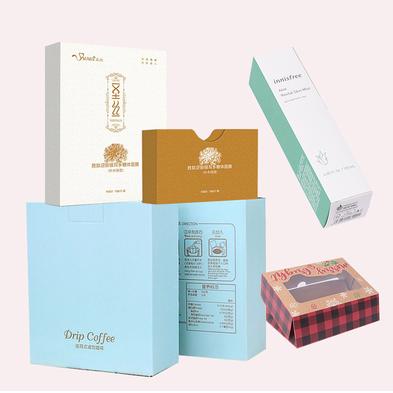 塑料样板中式定做盒子学生纸盒定制包装盒白色礼品盒pvc