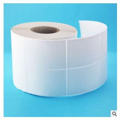 工厂直销 不干胶空白铜版纸40*60*2000 标签纸 商标条码纸