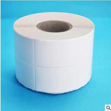 不干胶条码纸35*65*2000张 空白铜板标签纸 商品物价标签纸 现货