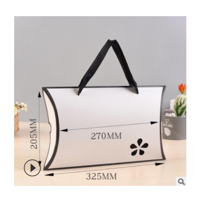 精美彩色H字母梅花丝巾盒包装礼品盒睡衣手提袋精美内衣盒 可定制