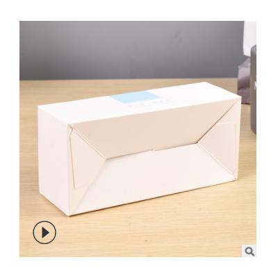 白卡纸开窗食品包装纸盒定制logo烘培甜点蛋糕盒透明马芬盒定做