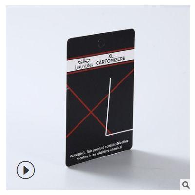 定做外贸彩卡标签铜版纸白卡片定制印刷logo售后卡插卡纸卡吊牌