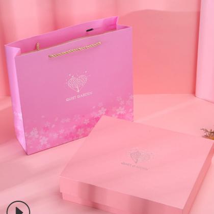 厂家现货小号翻盖立体茶叶礼物盒 口红香水包装盒护颈仪礼盒套装